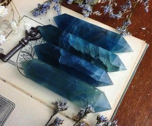 crystal and blue image