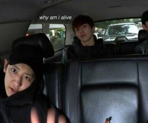 exo, xiumin, and chanyeol image