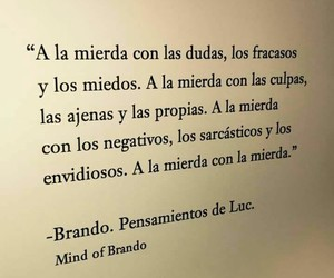 book, frases, and a la mierda image