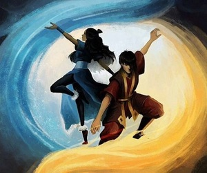 zuko, katara, and avatar image