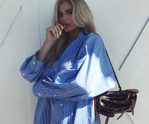 kylie jenner, style, and blonde image