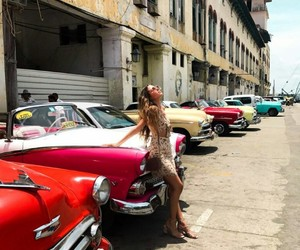 beauty, vintage, and havana cuba image