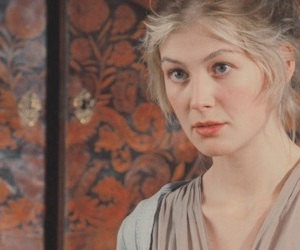 blonde, pretty, and rosamund pike image