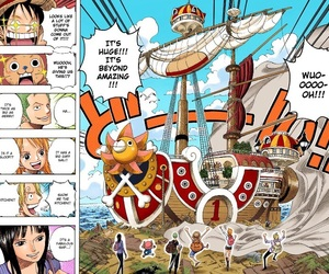 chopper, sanji, and one piece image