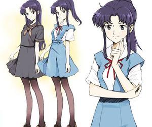 Neon Genesis Evangelion, misato katsuragi, and evangelion image