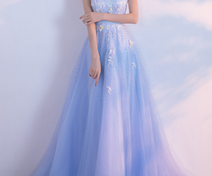 fashion, prom dress, and wedding image
