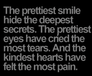 quotes, smile, and eyes image