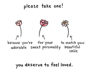 flowers, quotes, and adorable image