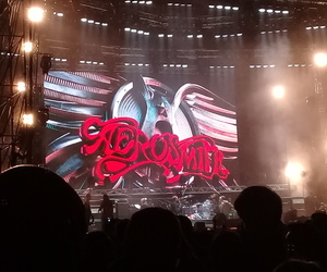aerosmith, concert, and rock'n roll image