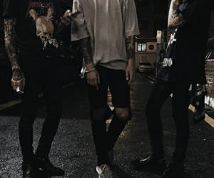 boy, grunge, and tattoo image