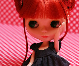 blythe, doll, and MM image