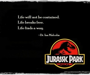 Jurassic Park and ian malcolm image