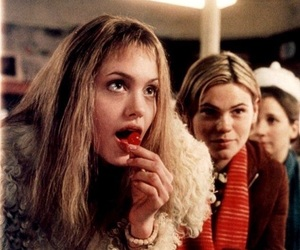 Angelina Jolie, girl interrupted, and cherry image