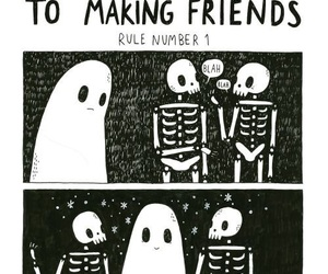 ghost, friends, and club image