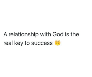 god and success image
