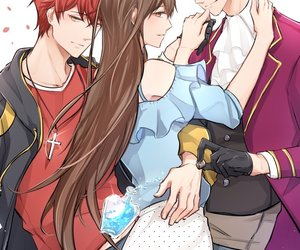 unknown, 707, and mystic messenger image