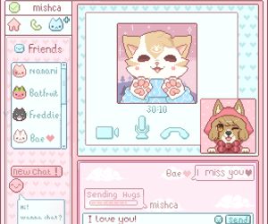 furry, kawaii, and pixel image