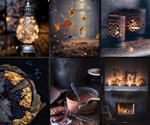 autumn, foliage, and pie image