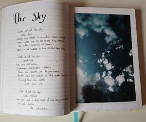 creative, journal, and poetry image
