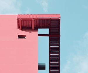 pink and teal image