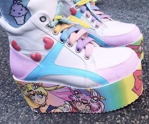 shoes, anime, and kawaii image