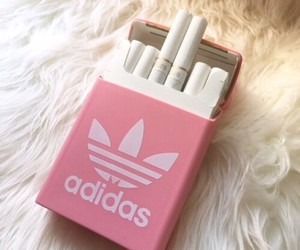 adidas, aesthetic, and cigarettes image