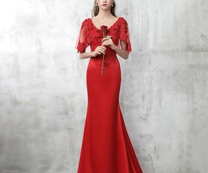 beautiful, formal dresses, and girls image