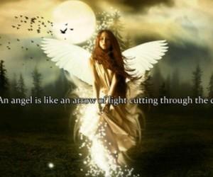 angel, arrow, and beautiful image