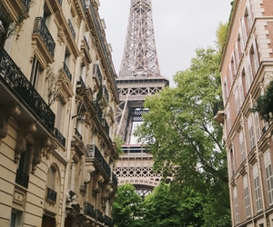 eiffel tower, france, and luxury lifestyle image