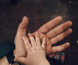 dad, happiness, and hold my hand image