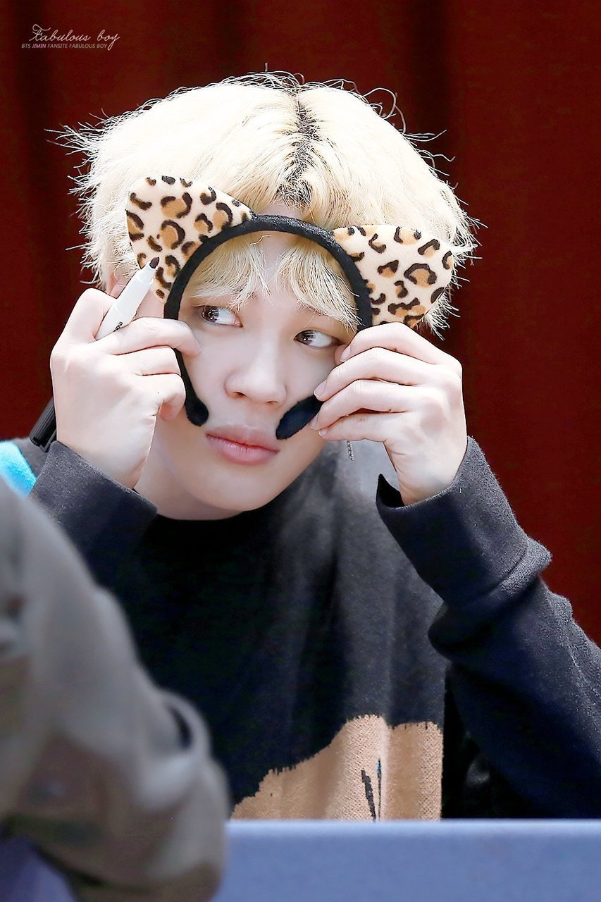 fansign, park jimin, and chimchim image