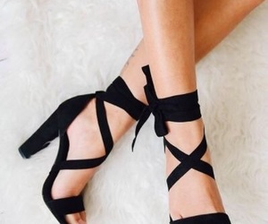 aesthetic, heels, and shoes image