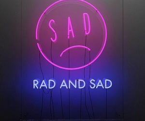 sad, rad, and grunge image