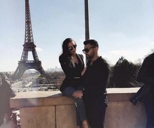 couple, paris, and dream couple image