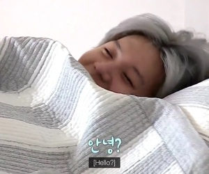 bed, fluffy, and Jonghyun image