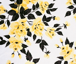 fabric, floral, and flowers image