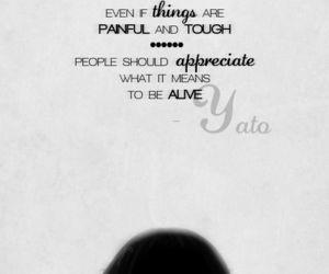 anime, quotes, and yato image