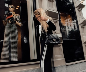 blonde, chanel, and mollyrustas image