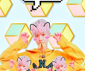background, kpop, and pattern image