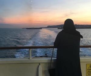 niqab, outfit, and abaya image