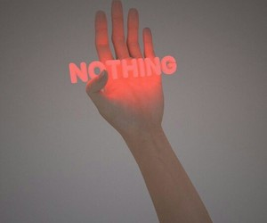 neon, nothing, and aesthetic image