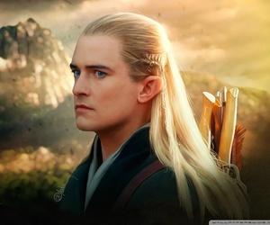 Legolas, orlando bloom, and the hobbit image