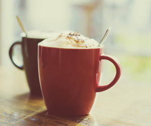 coffee, cappuccino, and chocolate image