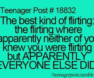 love, flirting, and funny image