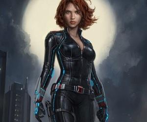Avengers, black widow, and badass image