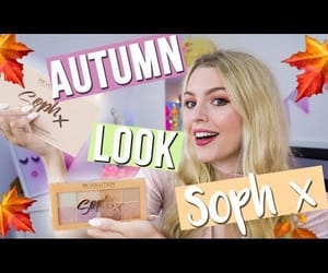 autumn, video, and beauty image