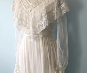 aesthetic, lace, and vintage image