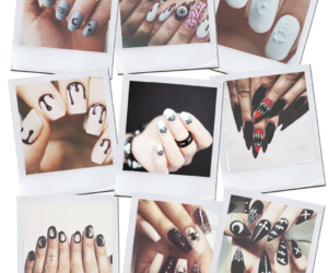 blogger, Halloween, and nails image
