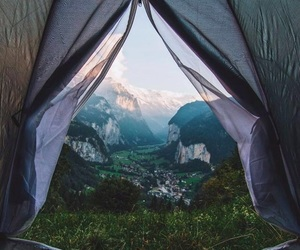nature, view, and camping image