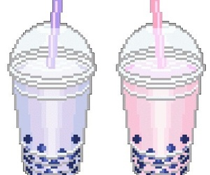 cute, drink, and kawaii image